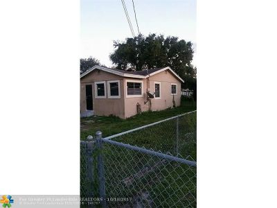 Miami Single Family Home For Sale: 2280 NW 99th Ter