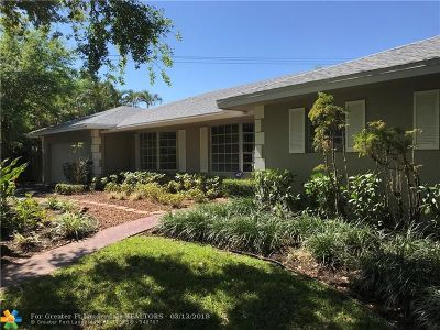 Plantation Single Family Home For Sale: 1161 SW 74th Ter