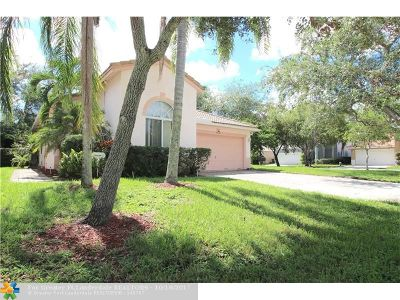 Coconut Creek Single Family Home For Sale: 5030 Ibis Pl