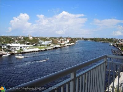 Pompano Beach Condo/Townhouse For Sale: 2611 N Riverside Dr #607