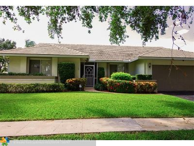 Plantation Single Family Home For Sale: 10606 NW 6th St