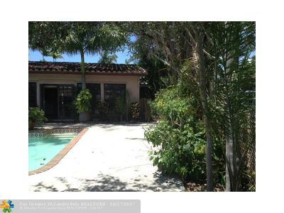 Wilton Manors Single Family Home For Sale: 1529 NE 28th Dr