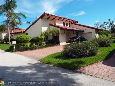 Tamarac Condo/Townhouse Backup Contract-Call LA: 7906 Hibiscus Cir #7906
