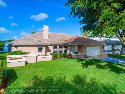Coral Springs Single Family Home For Sale: 5338 NW 60th Dr