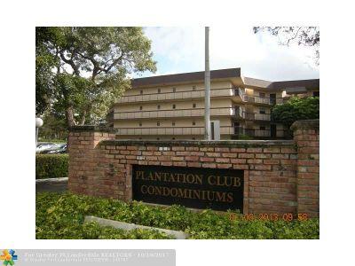Plantation Condo/Townhouse For Sale: 6655 W Broward Blvd #110D