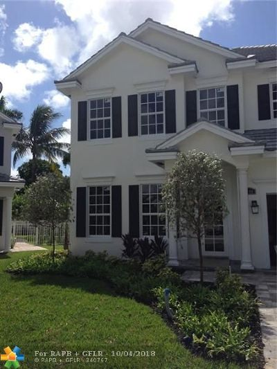 Fort Lauderdale Single Family Home For Sale: 1440 SW 22nd St