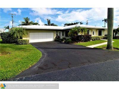 Pompano Beach Single Family Home For Sale: 1431 S Ocean Blvd. #92