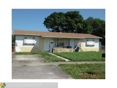 Deerfield Beach Single Family Home Backup Contract-Call LA: 1450 SW 7 Terrace