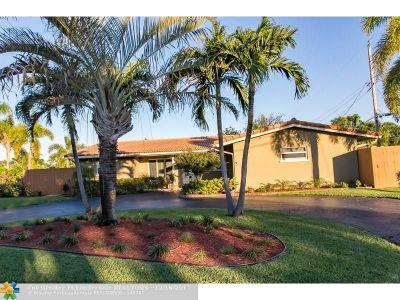 Oakland Park Single Family Home For Sale: 4750 NE 15th Ter