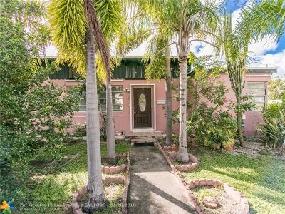 Dania Single Family Home For Sale: 201 SW 2nd Ave