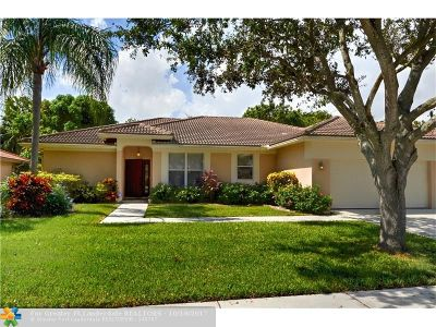 Coconut Creek Single Family Home For Sale: 6385 NW 43rd Ter