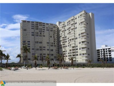 Pompano Beach Condo/Townhouse For Sale: 750 N Ocean Blvd #905