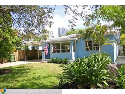 Fort Lauderdale Single Family Home For Sale: 805 SE 6th Ct