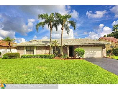 Coral Springs Single Family Home Sold: 6613 NW 48th St