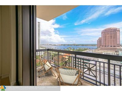 West Palm Beach Condo/Townhouse For Sale: 701 S Olive Avenue #717