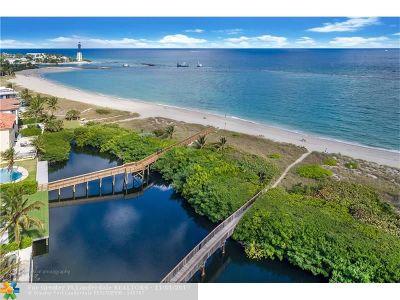 Pompano Beach Condo/Townhouse For Sale: 1778 Bay Dr #1778