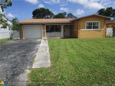 Pembroke Pines Single Family Home For Sale: 119 SW 68th Ave
