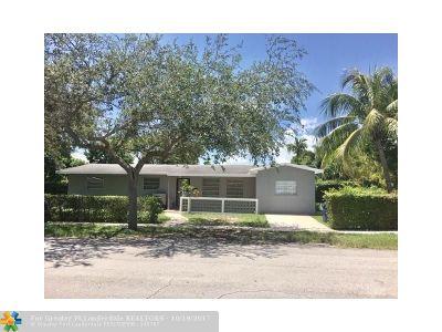 North Miami Beach Single Family Home Backup Contract-Call LA: 16590 NE 11th Ave
