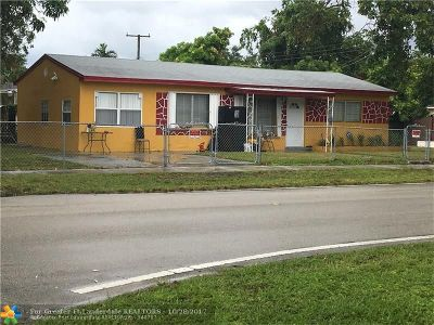 Broward County Single Family Home For Sale: 6160 Flagler St
