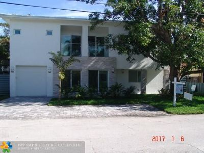 Fort Lauderdale Single Family Home For Sale: 720 NE 17th Rd