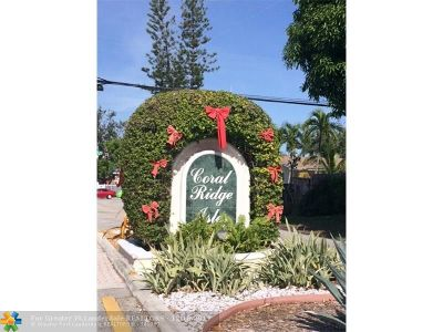 Fort Lauderdale Condo/Townhouse For Sale: 5911 NE 14th Ln #403S