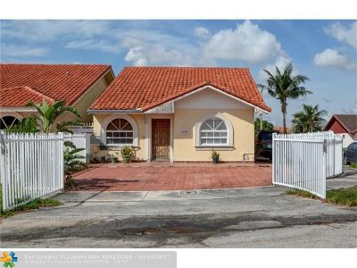 Hialeah Single Family Home Backup Contract-Call LA: 5790 W 20th Ct