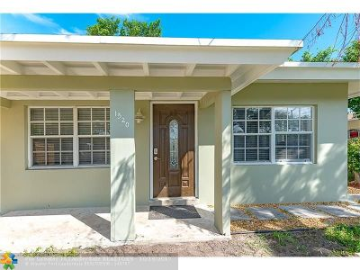 Fort Lauderdale Single Family Home For Sale: 1520 NW 9th Ave