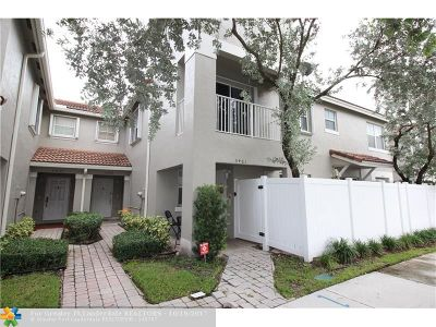 Miramar Condo/Townhouse For Sale: 5459 SW 125th Ter #5459