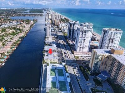 Broward County Condo/Townhouse For Sale: 2600 S Ocean Dr #S-102