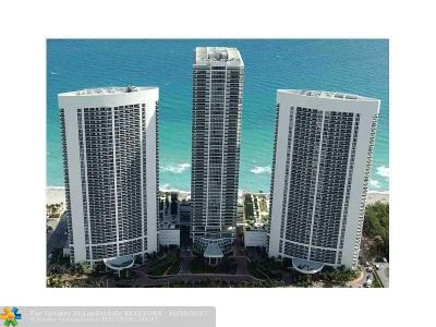 Hallandale Condo/Townhouse For Sale: 1830 S Ocean Dr #4207