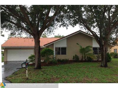 Coral Springs FL Rental For Rent: $2,550