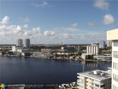 Hallandale Condo/Townhouse For Sale: 137 Golden Isles Dr #1610