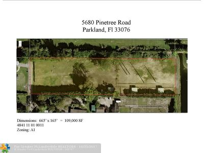 Parkland Single Family Home For Sale: 5678 Pinetree Rd