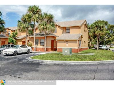 Lauderhill Condo/Townhouse For Sale: 2481 NW 56th Ave #10-16