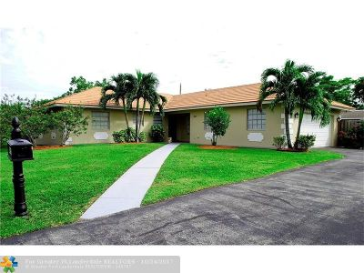 Coral Springs Single Family Home For Sale: 3607 NW 85th Ave