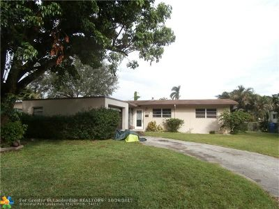 Wilton Manors Single Family Home Backup Contract-Call LA: 2424 NW 8th Ave