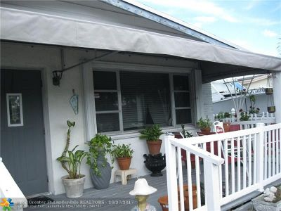 Oakland Park Single Family Home For Sale