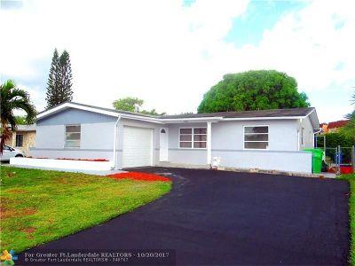 Sunrise Single Family Home Backup Contract-Call LA: 9021 NW 26th Pl