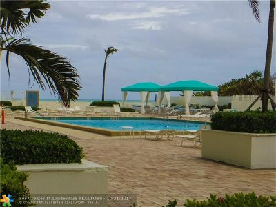 Hollywood Condo/Townhouse For Sale: 3725 S Ocean Dr #L-3