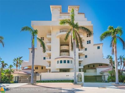 Fort Lauderdale Condo/Townhouse For Sale: 615 Bayshore Dr #602