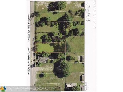 Pompano Beach Residential Lots & Land Backup Contract-Call LA: 1922 NW 9th St
