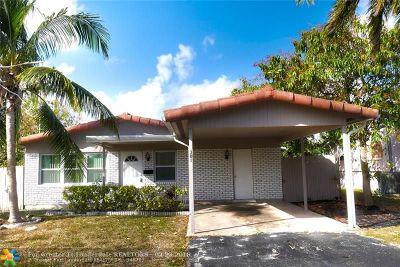 Pompano Beach Single Family Home For Sale: 301 NE 30 Court