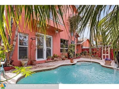 Lauderdale Harbors Single Family Home For Sale: 1241 Cordova Rd