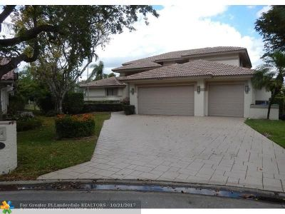 Coral Springs Single Family Home For Sale: 10401 NW 6th St