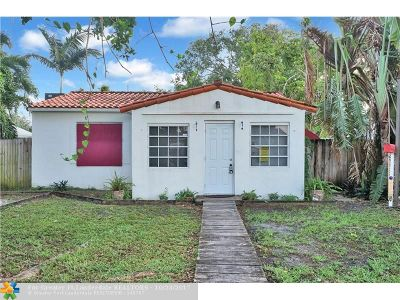 Hollywood Single Family Home For Sale: 2510 Coolidge St