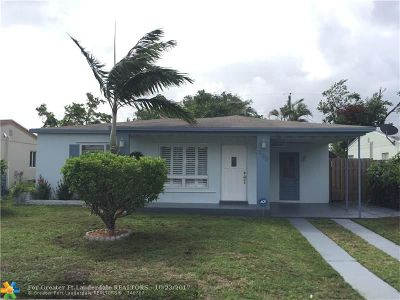 Oakland Park Single Family Home For Sale: 330 NW 54th St