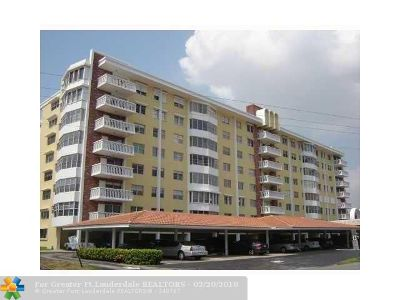 Fort Lauderdale Condo/Townhouse For Sale: 2500 NE 48th Ln #409