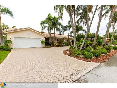 Coral Ridge, Coral Ridge 21-50 B, Coral Ridge Add, Coral Ridge Country Club Single Family Home Backup Contract-Call LA: 2829 NE 35th St