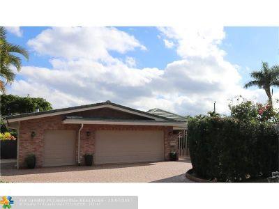 Coral Ridge, Coral Ridge 21-50 B, Coral Ridge Add, Coral Ridge Country Club Single Family Home For Sale: 2724 NE 35th Drive