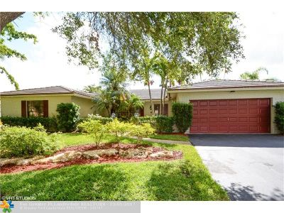 Coral Springs Single Family Home For Sale: 8846 NW 2nd St